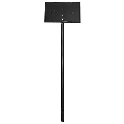 11 Quot X7 Quot Black Stake Sign Holders 30 Quot Stake For Garden Centers