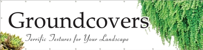 Groundcovers 16' x 4' VINYL Double Sided banner