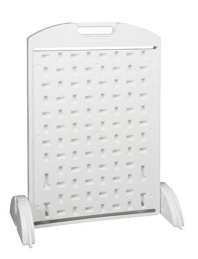 Sidewalk Stand; White (All Plastic)
