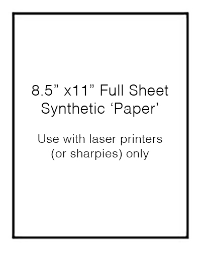 Full Sheet 'Outdoor Paper' (100 Sheets No Perforations)