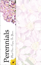 Perennials 16' x 4' VINYL Single Sided banner