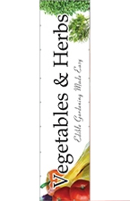 Vegetables & Herbs 16' x 4' VINYL Single Sided banner