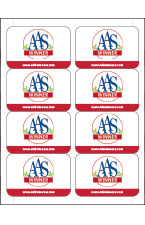AAS National Winner 80 Labels
