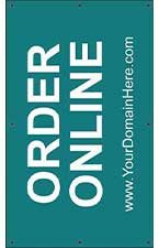 Order Online 5' x 3' VINYL Single Sided Banner